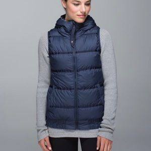 Lululemon Chilly Chill Down Puffer Vest.